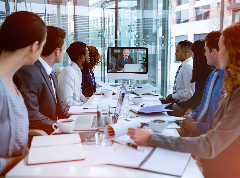 Accruent - Resources - Brochures - Video Conferencing Integrations - Hero