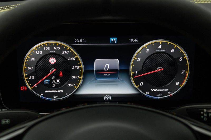 "Mercedes-Benz E-Klasse E63s AMG EDITION 1 4Matic 612pk (MAGNO MAT) Panoramadak Distronic Nightpakket Schaalstoelen Burmester Carbon ComandOnline Keyless 20"" Parktronic Pdc afbeelding 21"