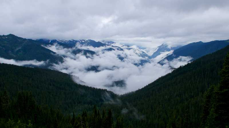 Clouds in the valley
