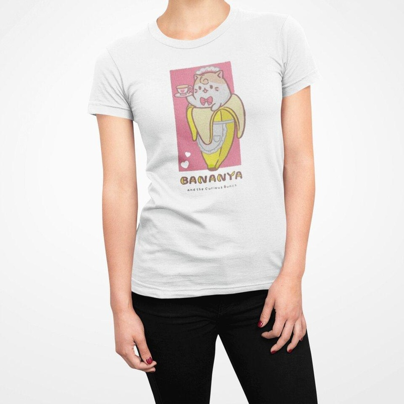 Bananya White Short Sleeve Shirt Wear