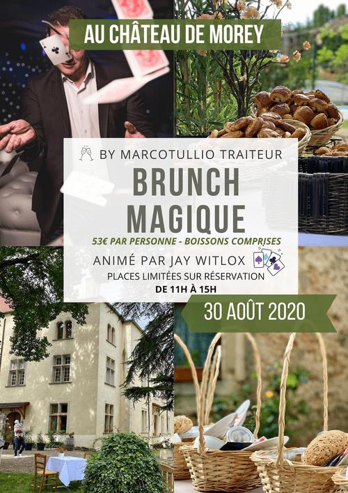 Brunch magique dans un château des ducs de Lorraine (proche de Nancy et Metz)