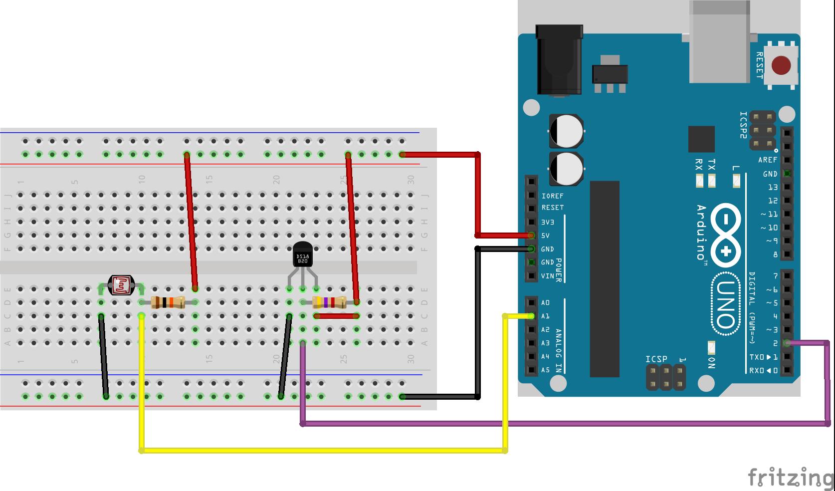 Temp Light Sensor
