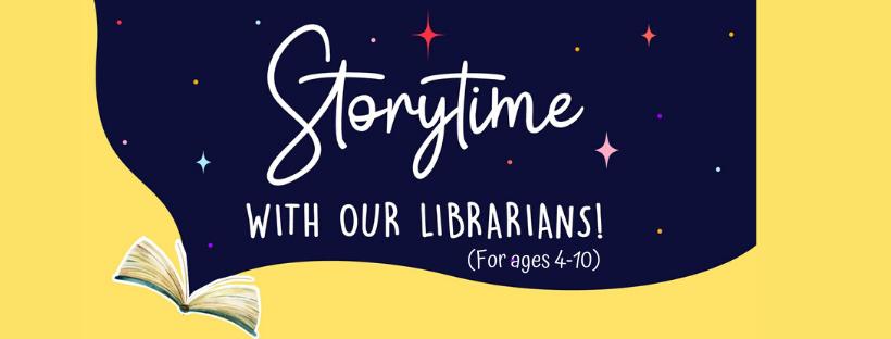 Storytime banner