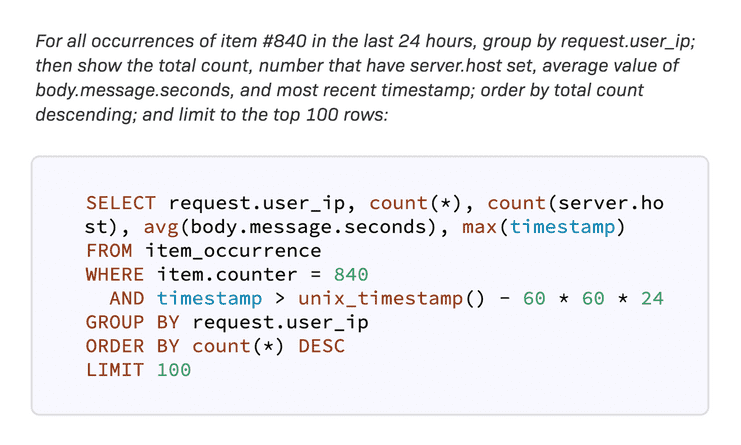 Android Error analytics query tool