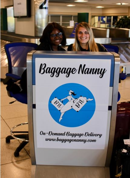 First Baggage Nanny Kiosk