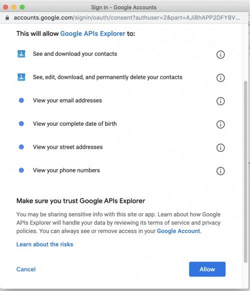 Esper Get Google Account Id