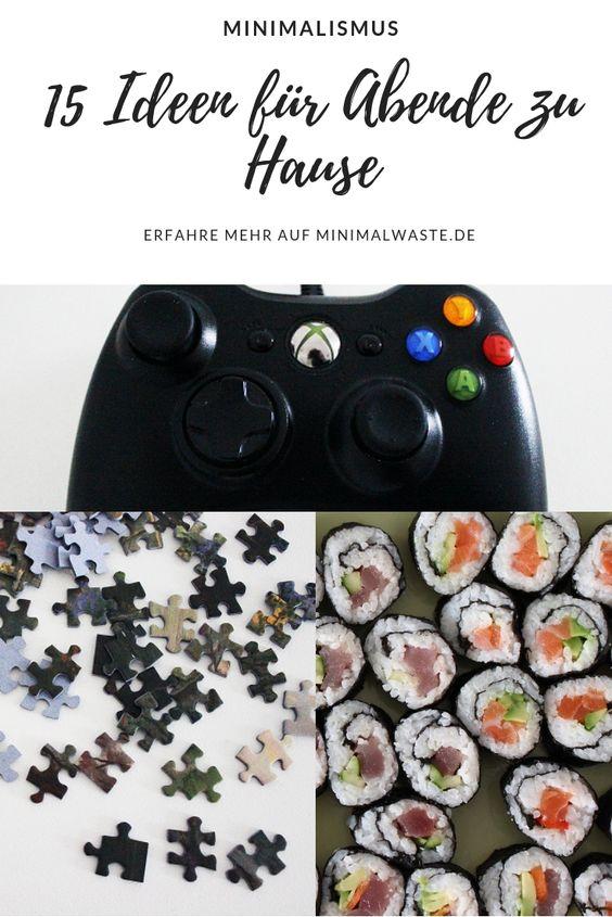 Pinterest Cover zu '15 Ideen für Freizeitgestaltung zu Hause'
