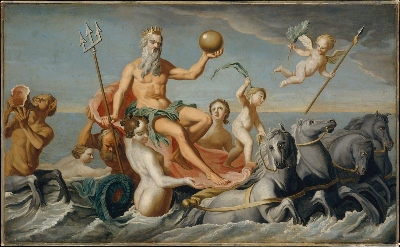 The Return of Neptune, John Singleton Copley
