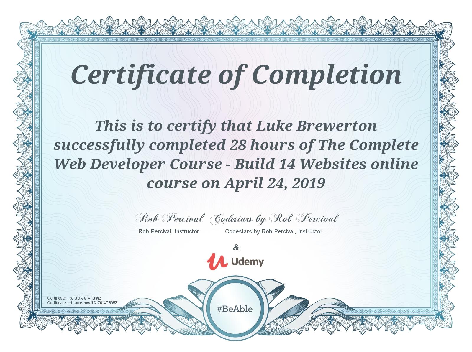Complete Web Dev