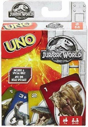 Jurassic World Uno