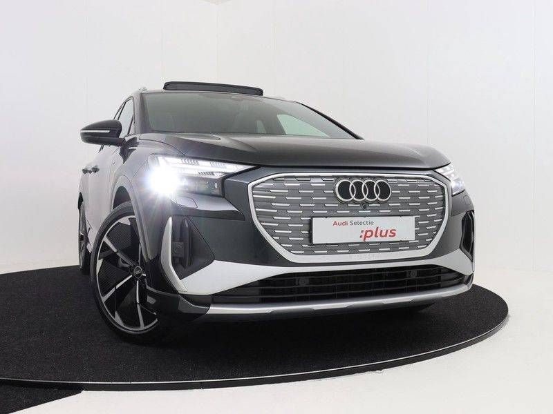 Audi Q4 40 e-tron Launch edition S Competition | Panoramadak | Lederen bekleding | Sonos | Head-up display afbeelding 12