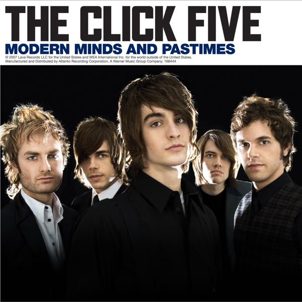 album art for Modern Minds and Pastimes by The Click Five