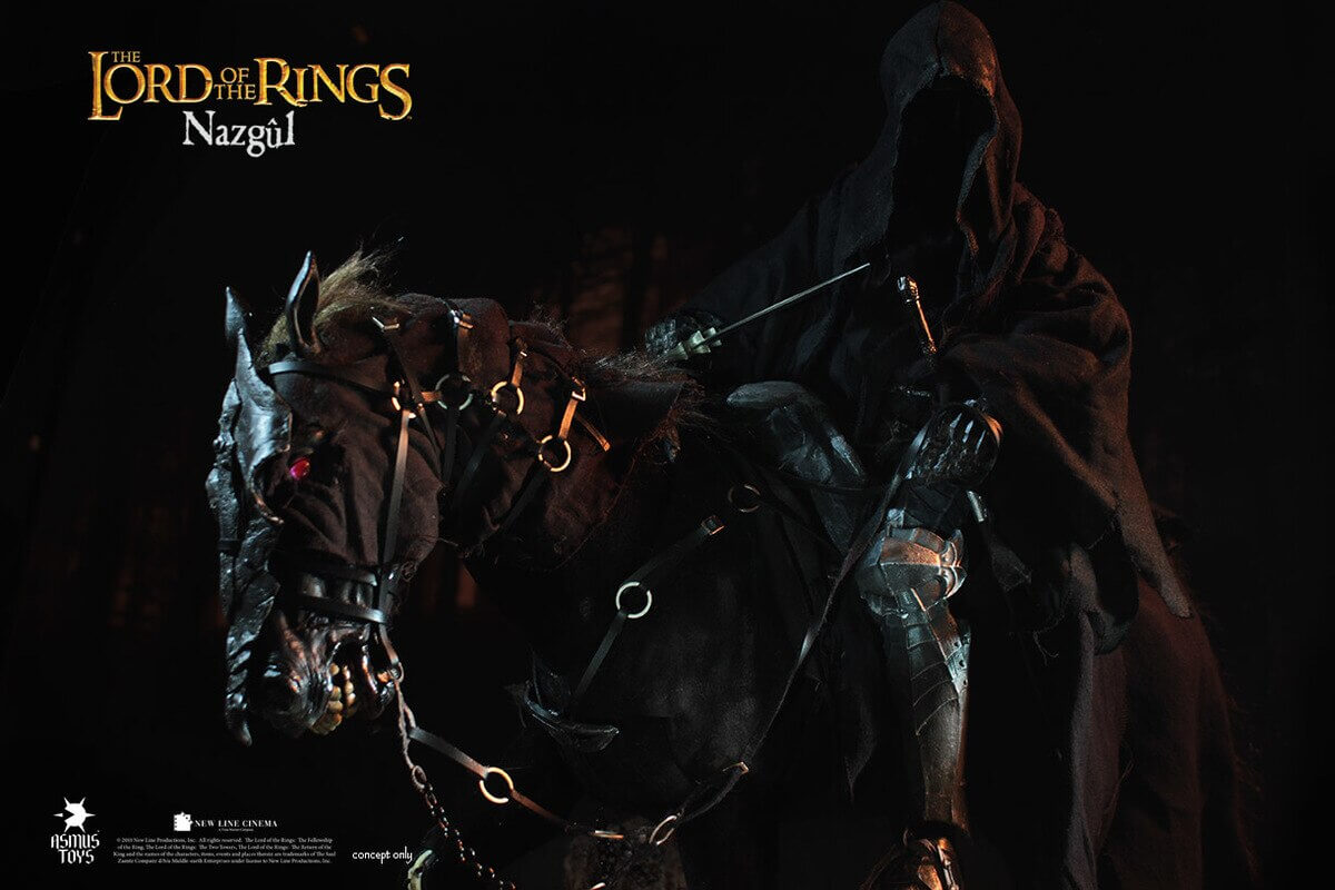 Asmus Toys The Lord of the Rings Nazgul Steed 1/6 Scale Figure