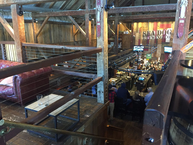 Sea Dog Brewing Company in Conway, NH