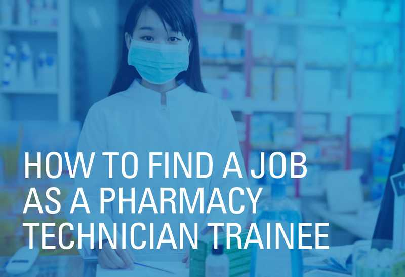 How to find entry level pharmacy technician jobs