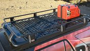 ARB Basket Roof Rack, Expanded Mesh Floor, with Jerry Can Holder