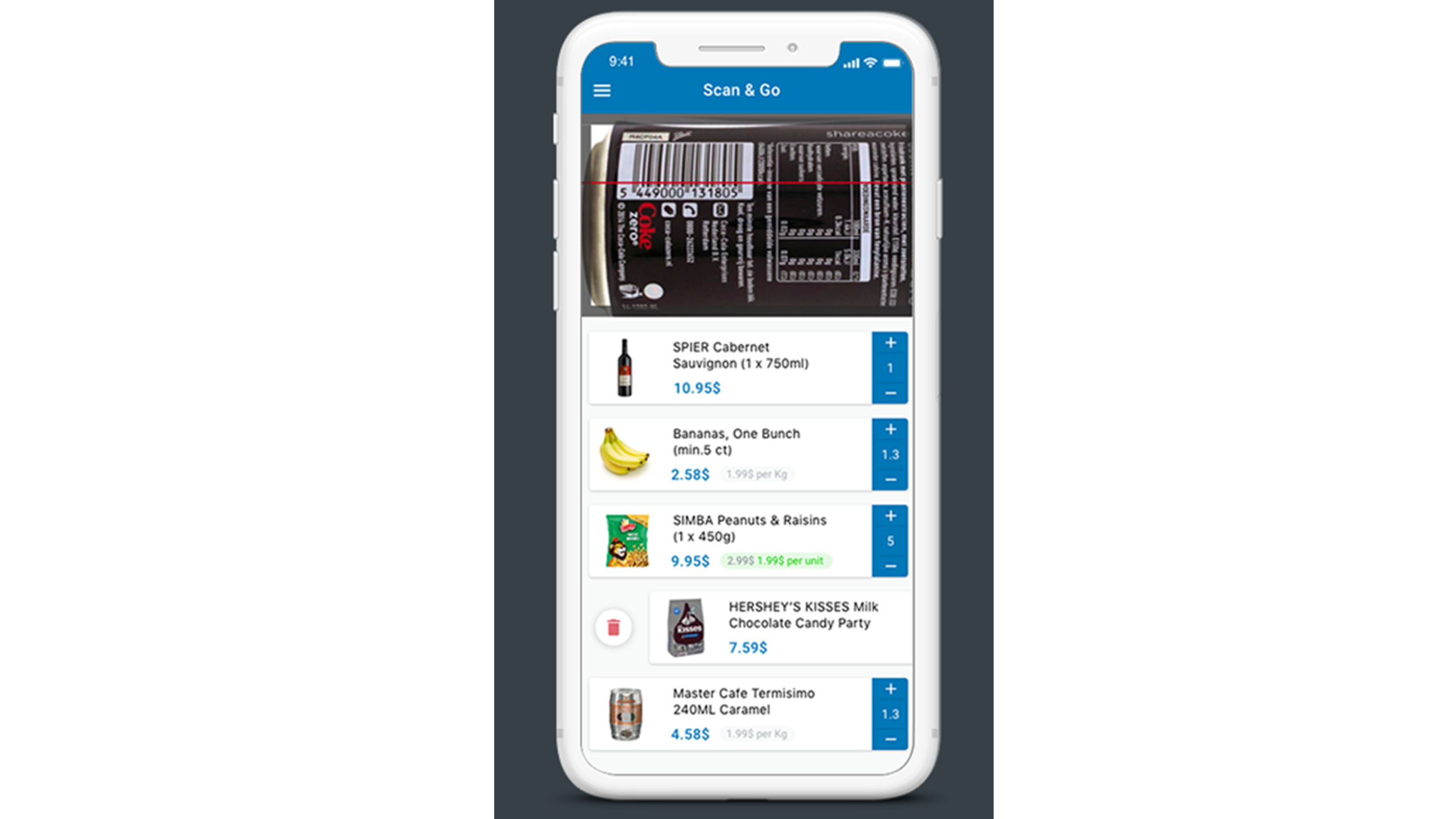 SuperSmart mobile scanner