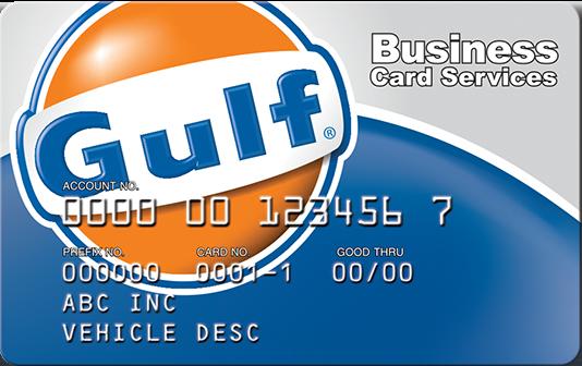 Gulf card