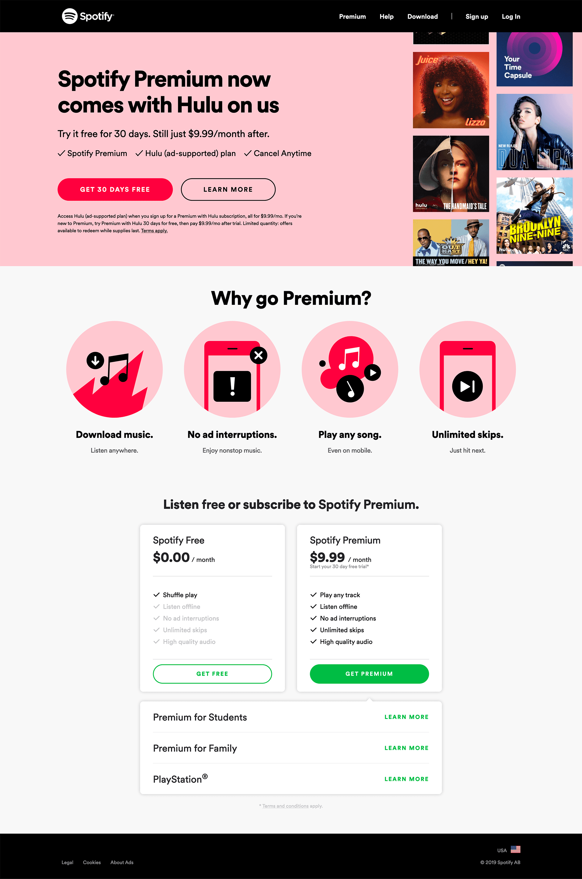 Spotify - BestPricingPages