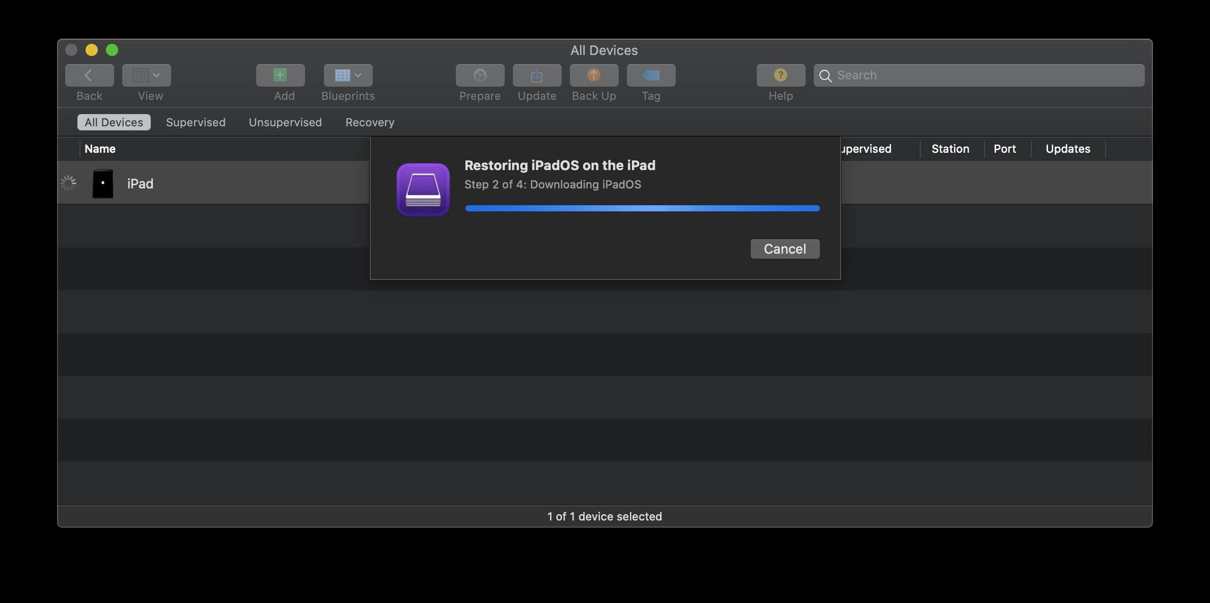 Apple Configurator 2 IPSW download
