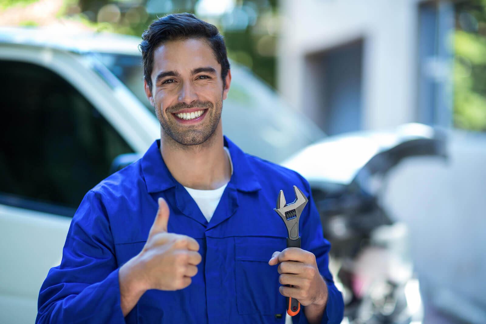 A Happy Mechanic