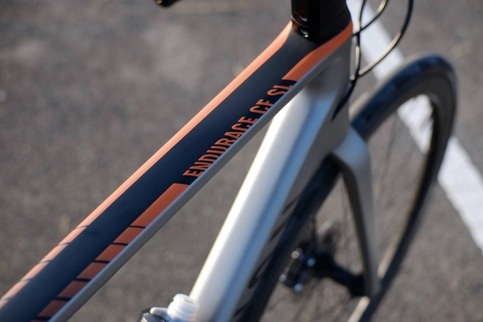 เฟรมรถจักรยาน Canyon Endurace CF SL