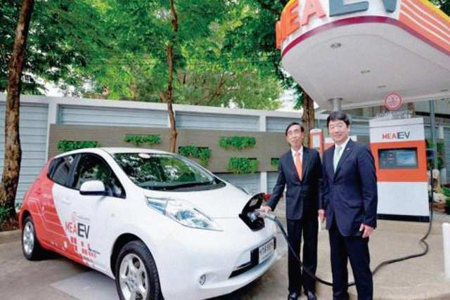 Magic Green - Electric Cars in Thailand
