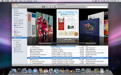 An iTunes influenced Finder
