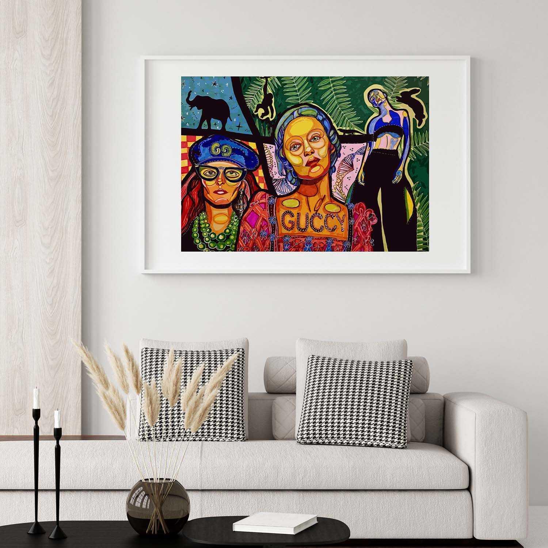 'Guccy' Giclée Art Print
