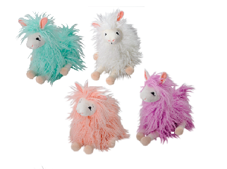 The Petting Zoo: Zootique Woolly Llamas Sitting Assortment