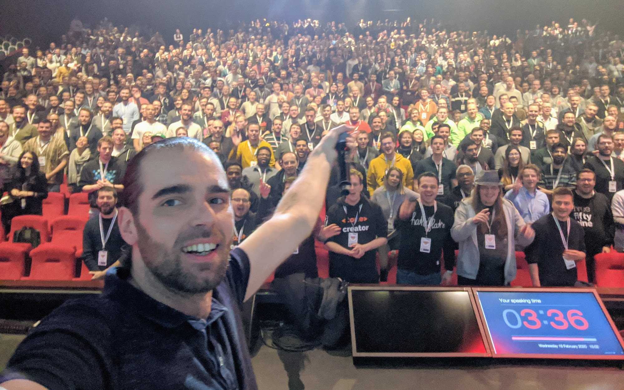 Speaking at Frontend Developer Love