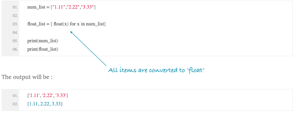 python convert string to float