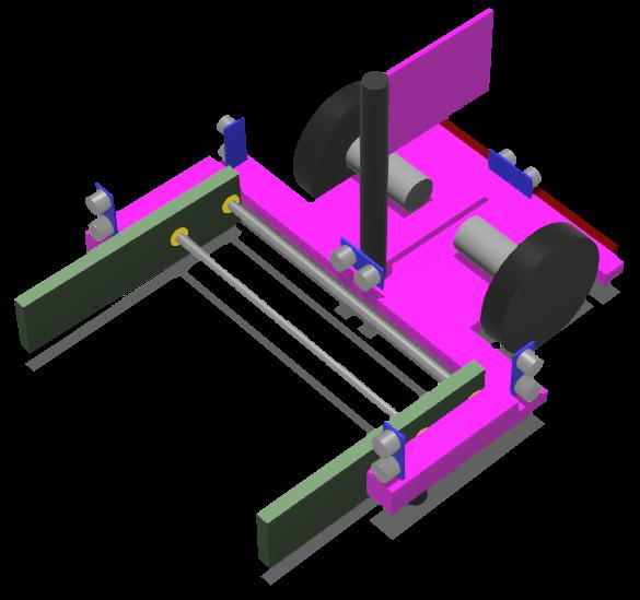 Forklift robot