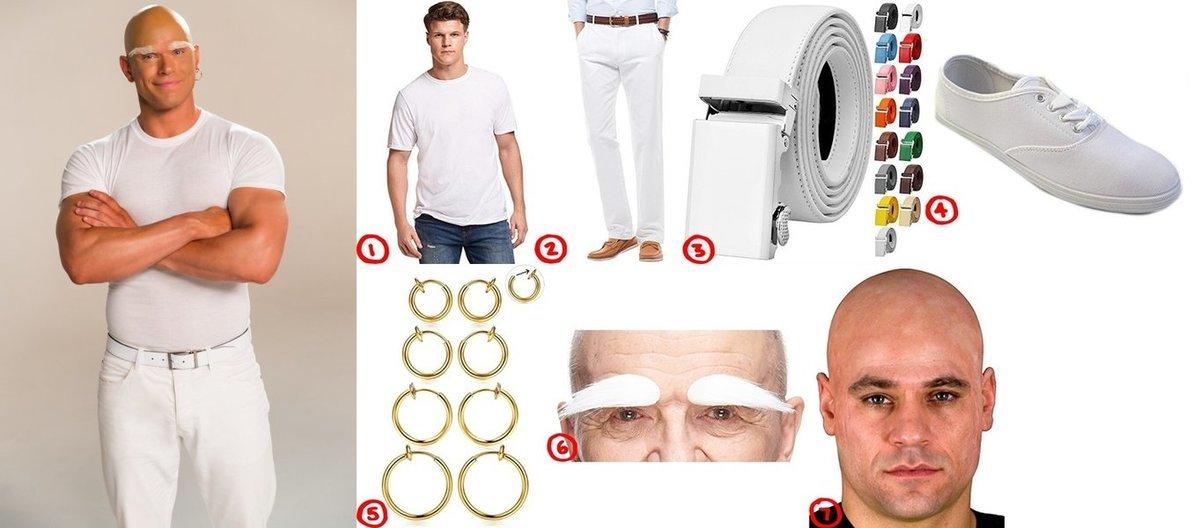 Mr Clean Cosplay u0026 Costume Guide  sc 1 st  Costumet & Dress Up Like Mr. Clean Costume for Cosplay u0026 Halloween