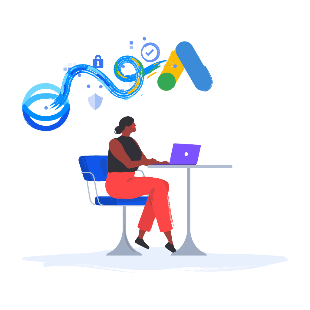 Connect to Google Ads illustration