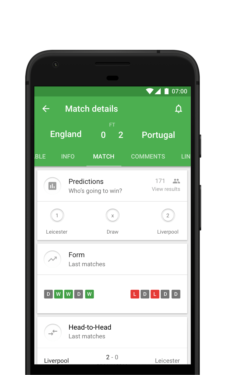 CrowdScores - Live football scores