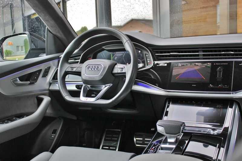 Audi Q8 50 TDI Quattro 3x S-Line 3.0 V6 286pk **HUD/Luchtvering/ACC/Elek.Trekhaak/B&O/Matrix.LED** afbeelding 2