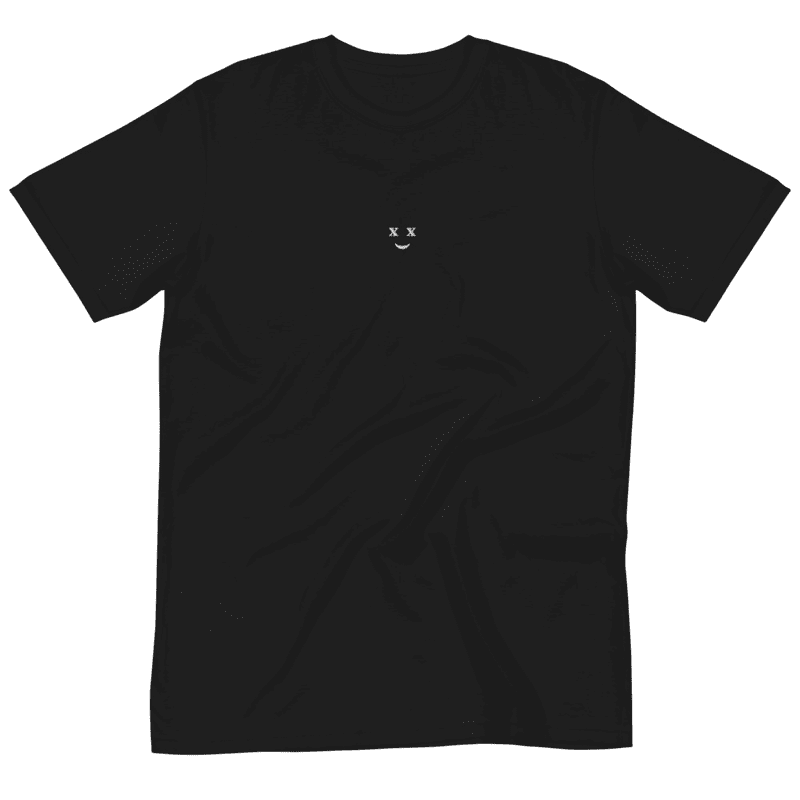 logo black tee