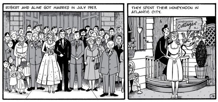 black and white comics panels