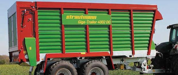 Harvest transport trailer