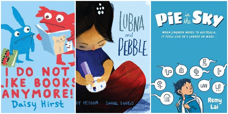 I Do Not Like Books Anymore!, Lubna and Pebble, Pie in the Sky