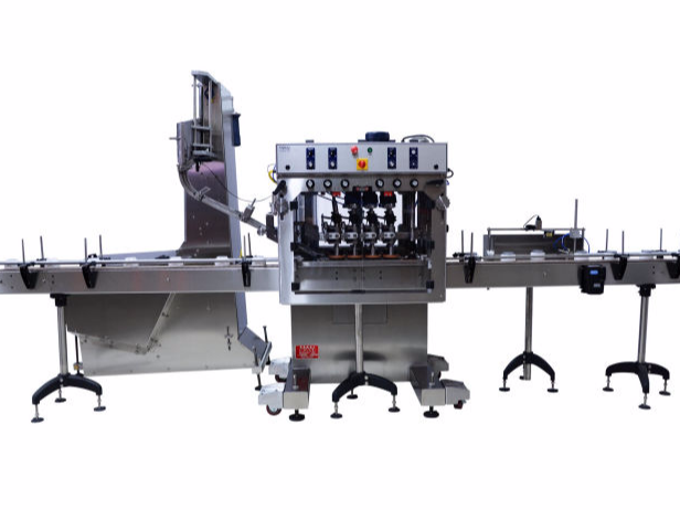 Inline Spindle (Quill) Cappers - Automated Pack