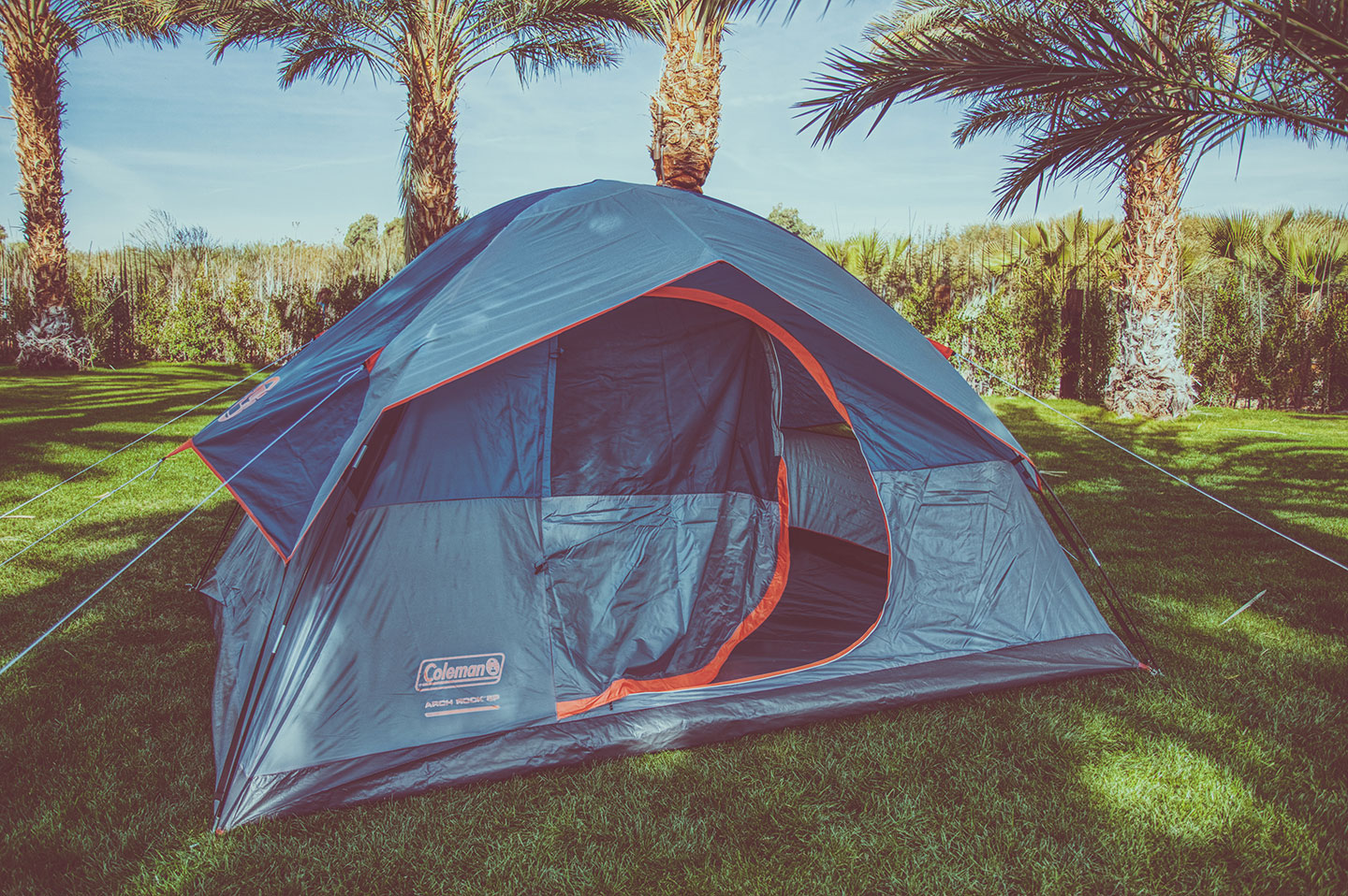 BYO Tent on GRASS