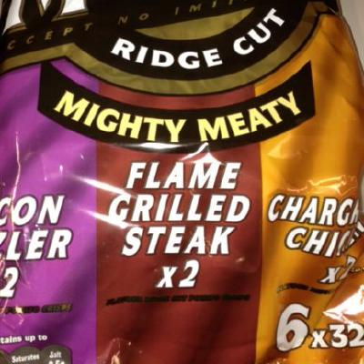 McCoys mighty meaty crisps