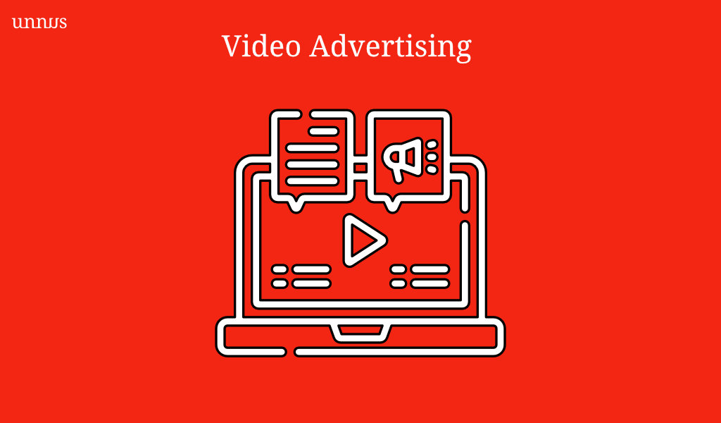 Illustration of video advertising in healthcare