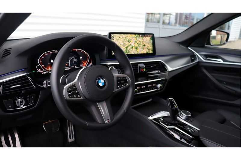 BMW 5 Serie Touring 530i High Executive M Sport Driving Assistant Prof, Head-Up Display, DAB, Memory afbeelding 10