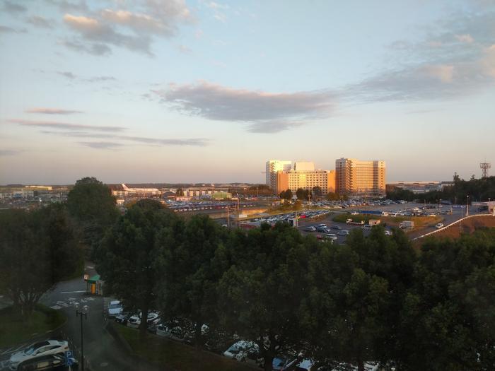 View from Narita Hotel