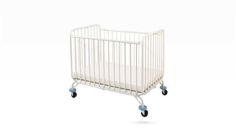L.A. Baby Deluxe Holiday Folding Crib