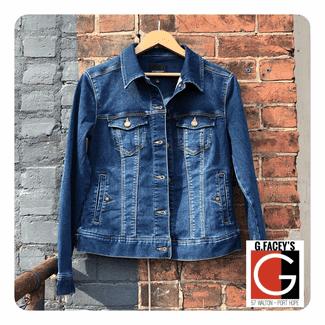 Liverpool Best Jean Jacket Power Flex Denim