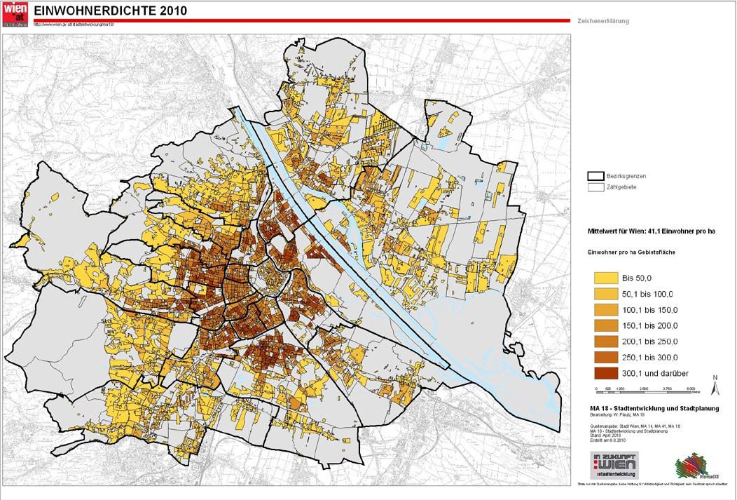 Wien density